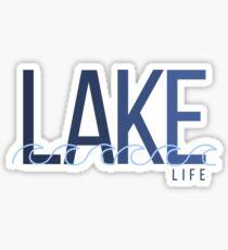 Lake Life Sticker