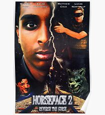 Horseface 2: Reverse the Curse - Official Poster Poster