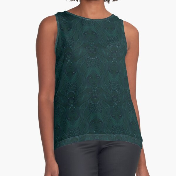 Mermaid Squad: Heart Guard (bigger) Sleeveless Top