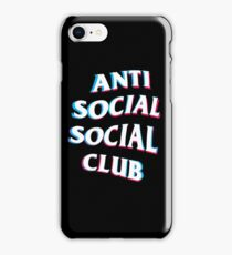 Anti Social Social CLub Trip iPhone Case/Skin