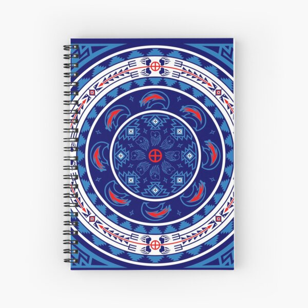 Bear Spirit Spiral Notebook