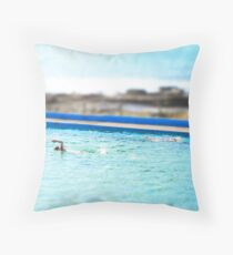 dee why Throw Pillow