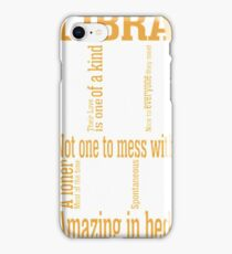 Libra Amazing In Bed iPhone Case/Skin