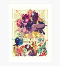 My Little Pony Movie  Art Print
