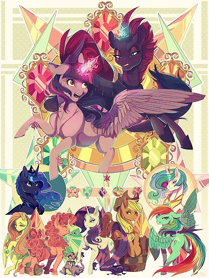 my little pony movie posters by jaykittens redbubble