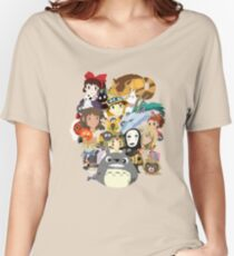 Studio Ghibli Collage Women's Relaxed Fit T-Shirt