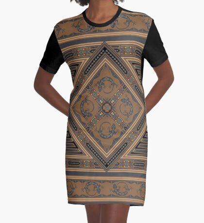 Gecko Graphic T-Shirt Dress