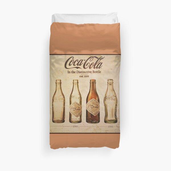 Coca-Cola Vintage Poster Duvet Cover