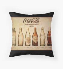 Coca-Cola-Weinlese-Plakat Dekokissen