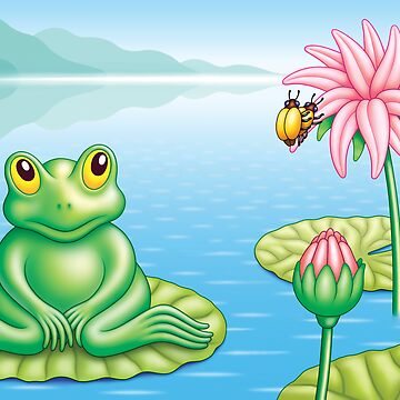 FROG  AND  BUGS by mistero