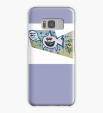 shark eating cops Samsung Galaxy Case/Skin