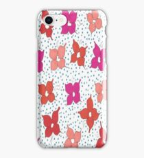 Celebration Flowers and Polka Dots iPhone Case/Skin