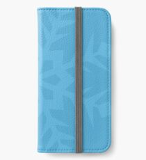 Blue Snowflake iPhone Wallet/Case/Skin