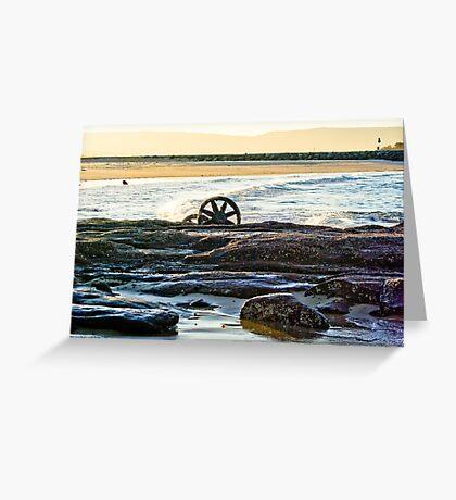 Windang island vista - HDR version Greeting Card