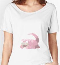 SlowPoly - Low Poly Slowpoke  Women's Relaxed Fit T-Shirt