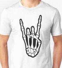 skull rock hand T-Shirt