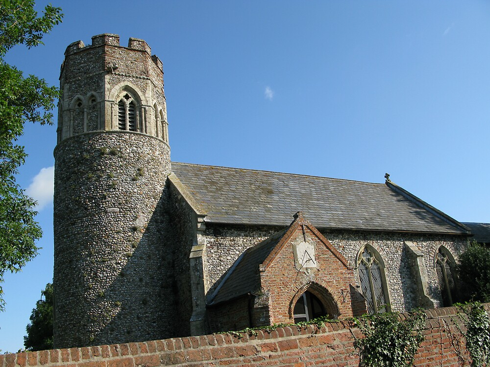 St Peter's Church, Repps Cumbastwick, Norfolk by Mike Paget