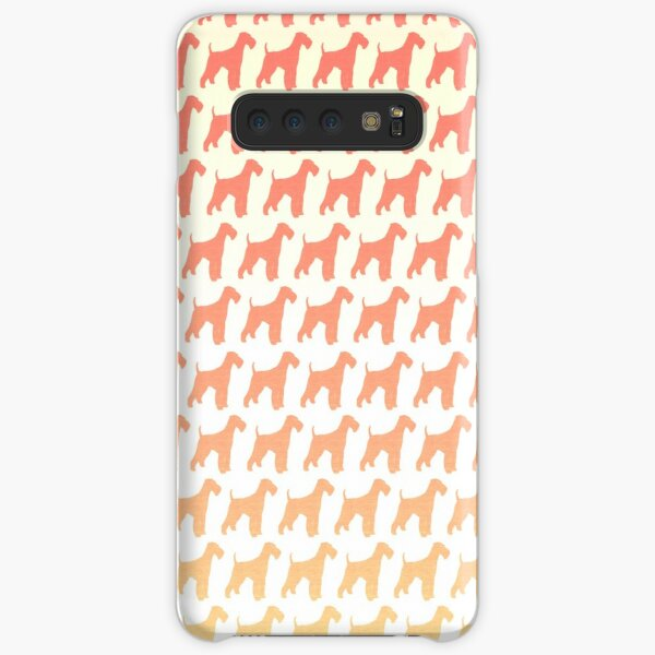 Airedale Terrier Silhouette(s) Samsung Galaxy Snap Case
