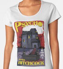 Psycho movie poster Women's Premium T-Shirt