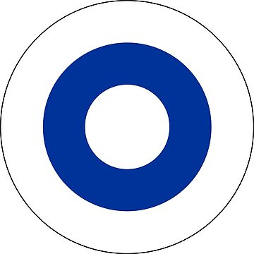 Roundel of the Finnish Air Force  by abbeyz71