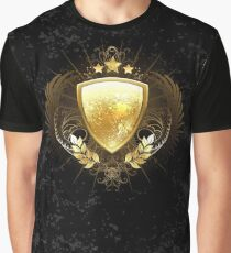 Golden shield ( Gold Shield ) Graphic T-Shirt