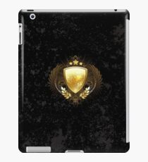 Golden shield ( Gold Shield ) iPad Case/Skin