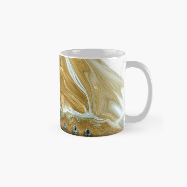 Golden Ship of Time Classic Mug