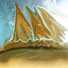 Golden Ship of Time by SherriOfPalmSprings Sherri Nicholas-