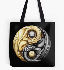 Balanced Dragons D20 Tote Bag
