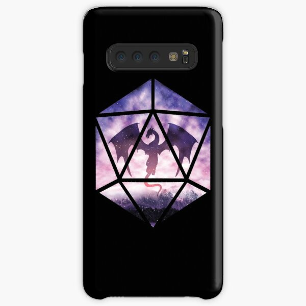 Purple Sky Dragon D20 Samsung Galaxy Snap Case