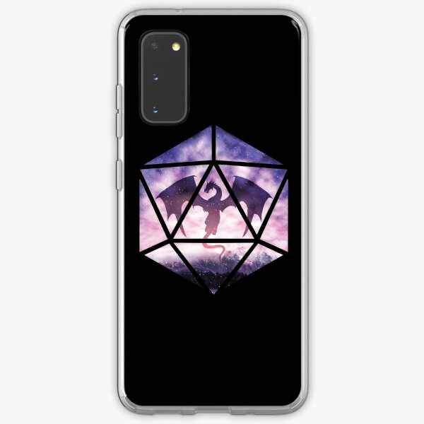 Purple Sky Dragon D20 Samsung Galaxy Soft Case