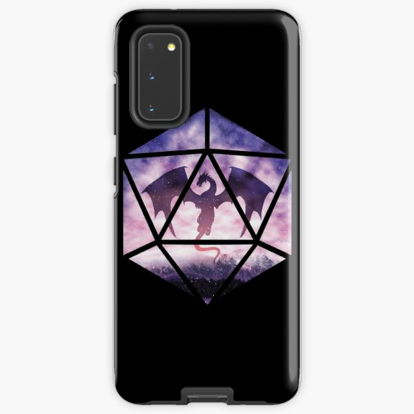 Purple Sky Dragon D20 Samsung Galaxy Tough Case