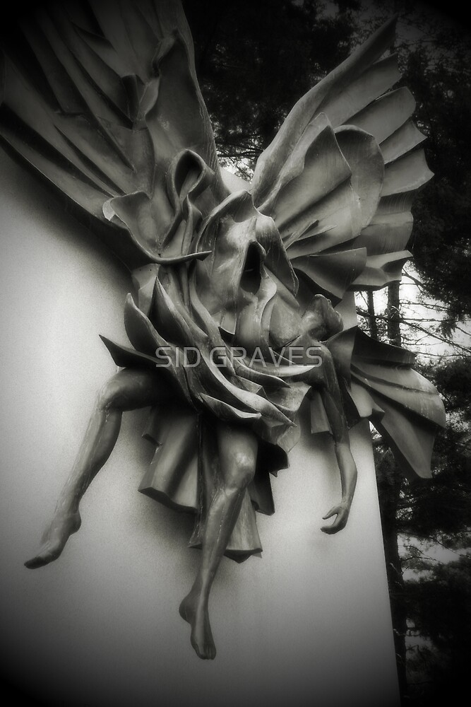 """""""ANGEL OF DARKNESS"""" by SID GRAVES"""