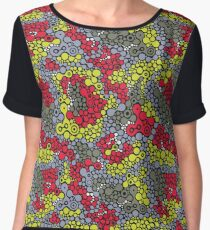Psychedelic reptile Chiffon Top