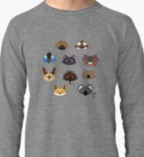 Just a bunch of cute australian animals - Australian animal design Lightweight Sweatshirt