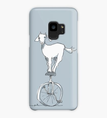 Goat on a unicycle Case/Skin for Samsung Galaxy