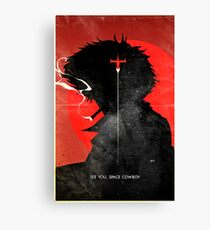 See You, Space Cowboy ver.distressed Canvas Print