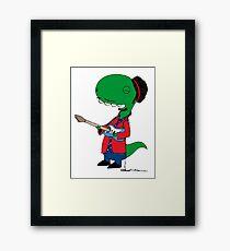 RÖH - Jimi Hendrix Framed Print