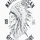 Native American women T-SHIRT by Julianco