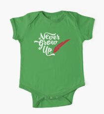 Peter Pan - Never Grow Up. Kids Clothes