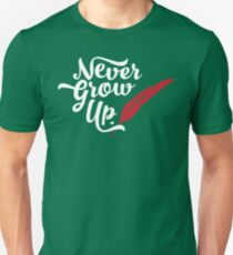 Peter Pan - Never Grow Up. T-Shirt