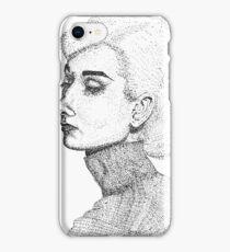 Audrey Hepburn Artwork iPhone Case/Skin