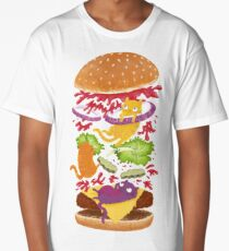 Cat Burger Long T-Shirt
