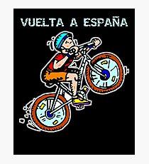 Vuelta a Espana Photographic Print