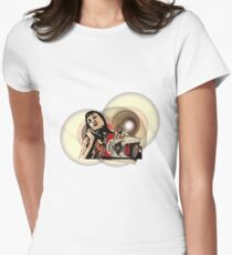 Abernathy: Death Proof Women's Fitted T-Shirt