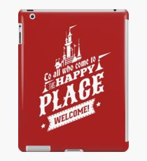 Magic Kingdom - Walt's Happy Place iPad Case/Skin
