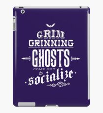 Haunted Mansion - Grim Grinning Ghosts iPad Case/Skin