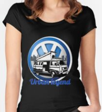 VW T25 Urban legend Women's Fitted Scoop T-Shirt