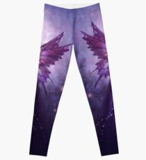 Mirabella Purple Butterfly Fairy Leggings