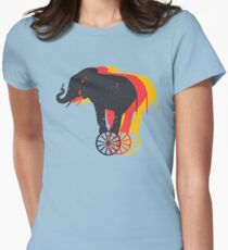 Elephant And Mice In Action T-Shirt